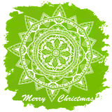 Vintage Merry Christmas And Happy New Year Stock Photo