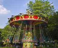 Vintage merry-go-round. Royalty Free Stock Photography