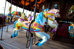 Vintage Merry Go Round Royalty Free Stock Photo