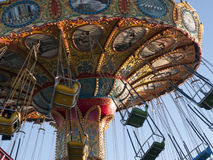 Vintage Merry go round Santa Cruz California Royalty Free Stock Image