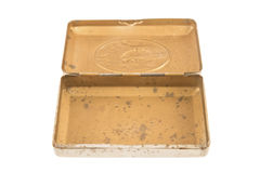 Vintage metal box Royalty Free Stock Images