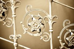 Vintage metal decoration Stock Images