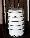 Vintage Metal Food Carrier Royalty Free Stock Photos