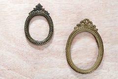 Vintage Metal frames Stock Images