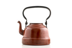 Vintage metal kettle. Royalty Free Stock Photography