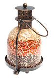 Vintage metal lamp of a mosaic Stock Image
