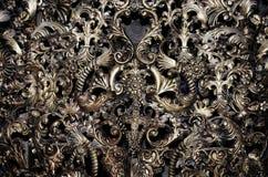 Vintage Metal Ornament Background Stock Photo