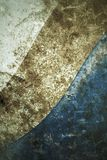 Vintage metal plate steel background Royalty Free Stock Photography