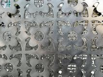 Vintage metal plate steel background stock images