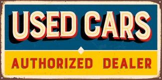 Vintage Metal Sign Royalty Free Stock Image
