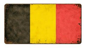 Flag of Belgium Stock Photography
