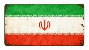 Flag of Iran Royalty Free Stock Photo