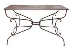 Vintage metal table Royalty Free Stock Photo