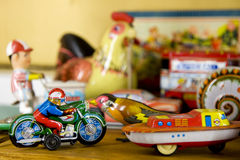 Free Vintage Metal Toys Stock Photography - 13224462