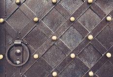 Vintage metallic pattern. Decorative checkered elements Royalty Free Stock Photos