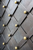 Vintage metallic pattern. Decorative checkered elements Stock Photography