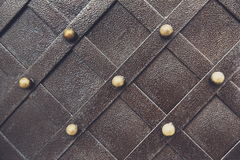 Vintage metallic pattern. Decorative checkered elements Royalty Free Stock Image