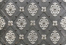 Vintage metallic pattern. Stock Image