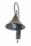 Vintage metallic wall lamp Royalty Free Stock Photography