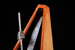 Vintage metronome Stock Images