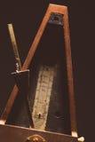 Vintage metronome Royalty Free Stock Photos
