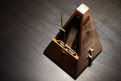 Vintage metronome Stock Photography