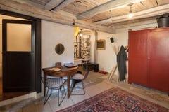 Vintage meublé de maison, entrée photo stock