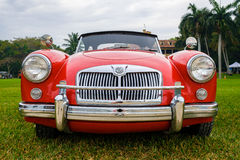 Vintage MG Automobile Stock Photography
