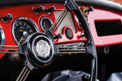 Vintage MG Automobile Royalty Free Stock Photography
