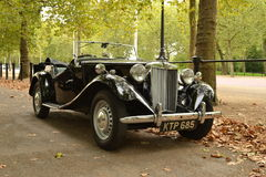 Vintage MG car Royalty Free Stock Photography