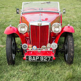Vintage MG TA sportscar Royalty Free Stock Images