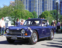Vintage MG TR250 Royalty Free Stock Image