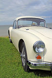 Vintage mga classic car Royalty Free Stock Photo