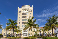 Vintage Miami Beach City Hall in art deco style Royalty Free Stock Photography
