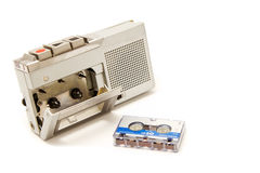 Vintage micro cassette recorder Royalty Free Stock Images