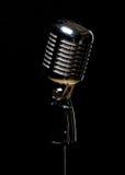 Vintage microphone Royalty Free Stock Image