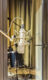Vintage microphone. A vintage microphone at recording studio Royalty Free Stock Photo