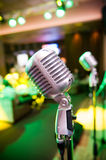 Vintage microphone Royalty Free Stock Photo