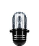 Vintage Microphone Isolated Stock Images