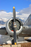 Vintage Military Airplane Royalty Free Stock Photography