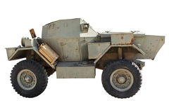 Vintage military car Royalty Free Stock Images