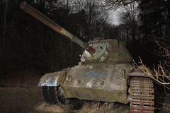 VIntage military equipment - Tanks Royalty Free Stock Images