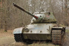Vintage military equipment - Tanks Royalty Free Stock Photo