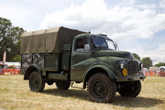 Vintage military lorry Stock Photos