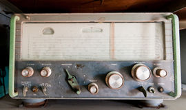 Vintage military radio Stock Photos
