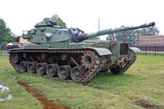 Vintage military tank Stock Photos