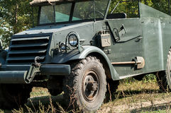 Vintage military truck Royalty Free Stock Photography