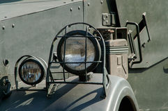 Vintage military truck Stock Images