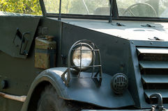 Vintage military truck Stock Image