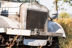 Vintage military truck Stock Photo